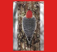 Woodpecker at Work One Piece - Long Sleeve