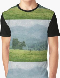 Pasture Trees Graphic T-Shirt