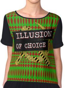 """Illusion Of Choice"" Chiffon Top"