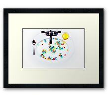 Cereal Sink Framed Print