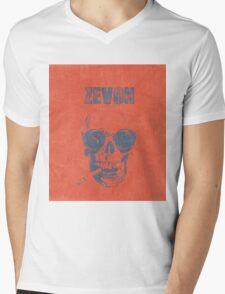 WARREN ZEVON Fan Art Mens V-Neck T-Shirt