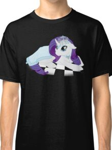 White Queen Rarity on white checkers Classic T-Shirt