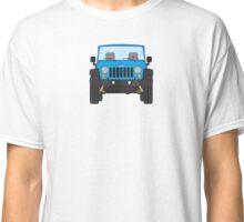 Jeep Wrangler (blue) Classic T-Shirt