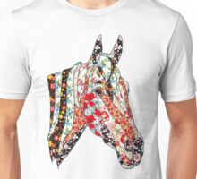Horse Patchwork cool style  Unisex T-Shirt