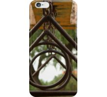 Rust Covered Circles and Triangles iPhone Case/Skin