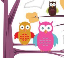 Owls 2 Sticker