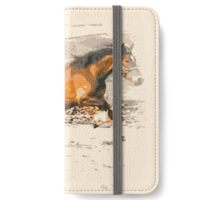 Galloping Welshie  iPhone Wallet/Case/Skin