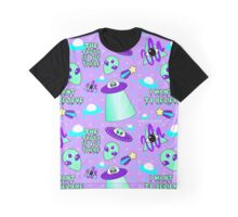 The Cute is Out There - Full Print Graphic T-Shirt