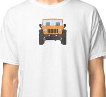 Jeep Wrangler (orange) Classic T-Shirt