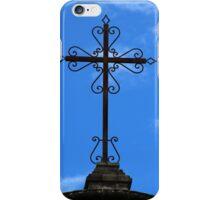 Steel Cross on a Catholic Church iPhone Case/Skin