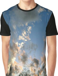 Puffy Blue Graphic T-Shirt