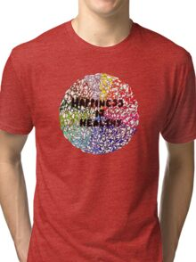Happiness is Healthy Tri-blend T-Shirt