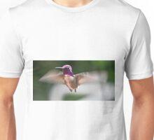 JUVENILE MALE ANNA'S IN FLIGHT Unisex T-Shirt