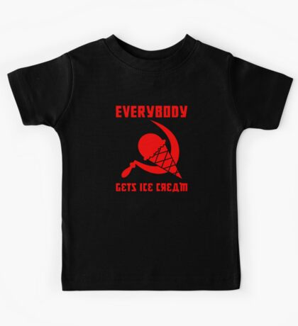 Everybody Gets Ice Cream - Red Kids Clothes