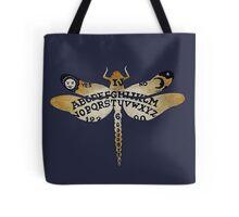 Ouija Dragonfly Purple Tote Bag