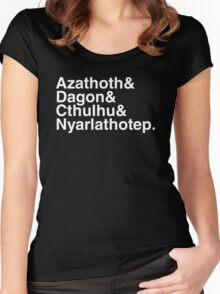 Azathoth &... Women's Fitted Scoop T-Shirt