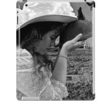 Gilded Memorial in Black and White iPad Case/Skin