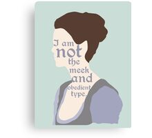 Claire Fraser Quote Variant Canvas Print