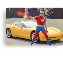 super hero fire Canvas Print