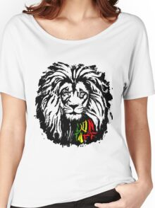 Lion Tuff Lion Head Women's Relaxed Fit T-Shirt