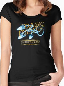 D&D Tee - Magic Missile Women's Fitted Scoop T-Shirt