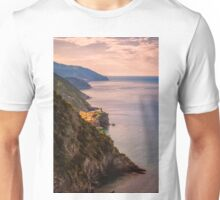 Hiking in Cinque Terre Italy Unisex T-Shirt