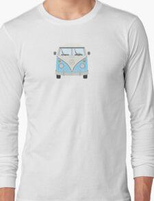 VDUB Bus (blue) Long Sleeve T-Shirt