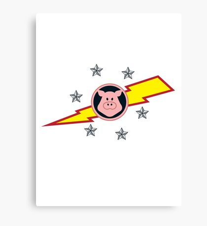 Pigs in Space Canvas Print