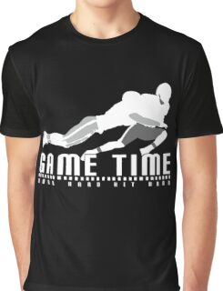 Game Time - Tackle (Black) Graphic T-Shirt