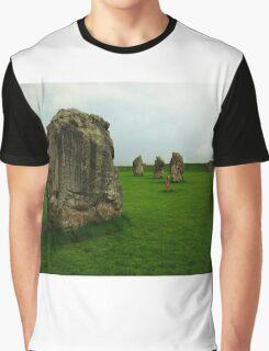 Avebury Stone Circle Graphic T-Shirt