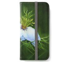 Nigella Damascena (Painterly Version) iPhone Wallet/Case/Skin