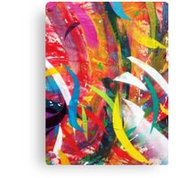 Abstract Street Art Canvas Print