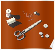 Sewing Craft Poster