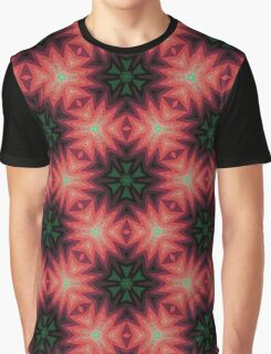 Flowers Explosion Pattern Graphic T-Shirt