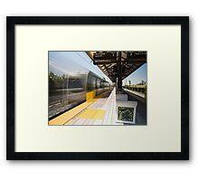 APU/Citrus College Metro Station Framed Print