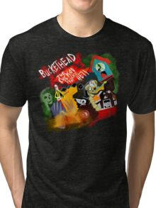 Buckethead - cuckoo clocks of hell Tri-blend T-Shirt