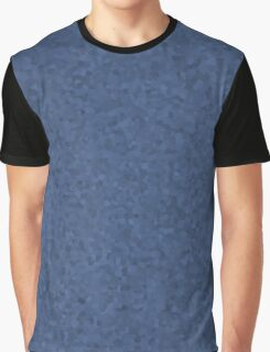 Blue Metal Cell Camo Graphic T-Shirt