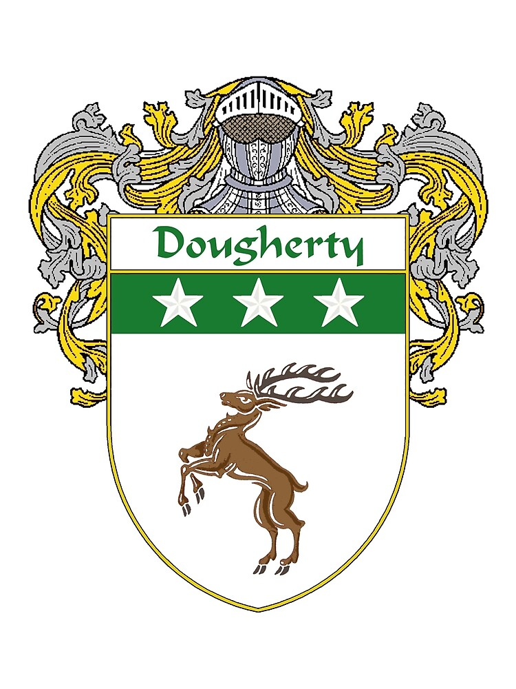 Dougherty Coat of Arms/Family Crest by William Martin