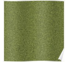 Olive Green Cell Camo Poster