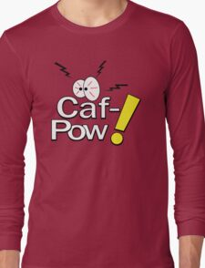 Caf-Pow - Logo Only No Text Long Sleeve T-Shirt