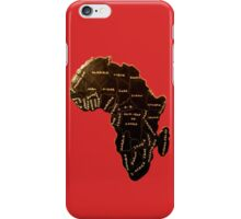 Africa the most beautiful continent iPhone Case/Skin