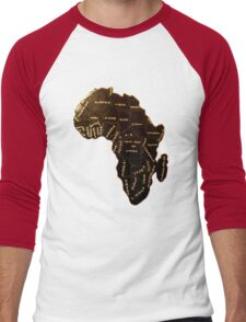 Africa the most beautiful continent Men's Baseball ¾ T-Shirt