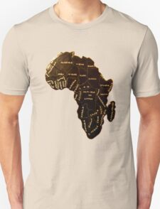 Africa the most beautiful continent T-Shirt