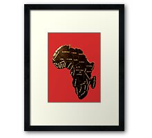 Africa the most beautiful continent Framed Print