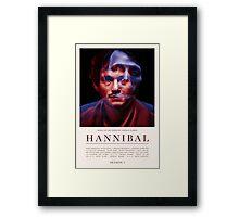 Hannibal - Season 1 Framed Print