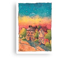 Post Office Canvas Print