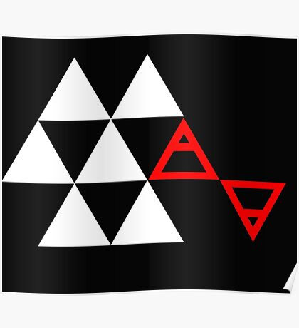 Air&Earth (AV) Pyramid Poster