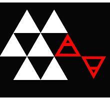 Air&Earth (AV) Pyramid Photographic Print