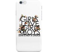 GIRLS/GIRLS/BOYS iPhone Case/Skin