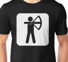 Recreational Archery Sign Symbol .  Unisex T-Shirt